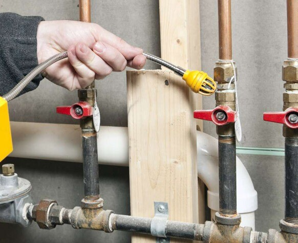Riparazione perdite gas   Fuga gas Milano