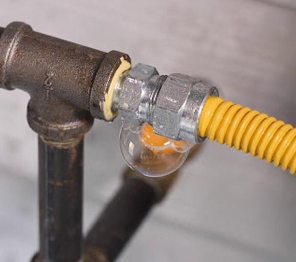 Riparazione perdite gas